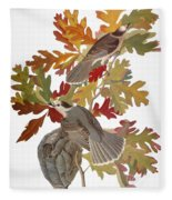 Audubon: Jay Fleece Blanket