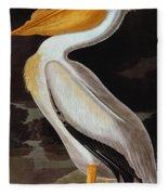 Audubon: Pelican Fleece Blanket