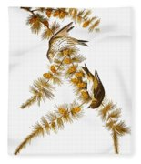 Audubon: Siskin Fleece Blanket