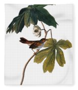 Audubon: Sparrow, 1827-38 Fleece Blanket