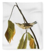 Audubon: Thrush, 1827 Fleece Blanket