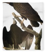 Audubon: Turkey Vulture Fleece Blanket