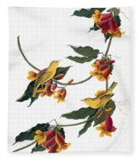 Audubon: Vireo, 1827-38 Fleece Blanket