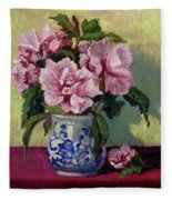 August Blossoms Fleece Blanket