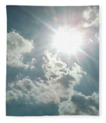 August Sun Fleece Blanket