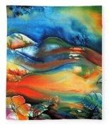 Aurora By Reina Cottier Fleece Blanket