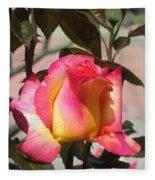 Aurora Color Rose Bud. Wow Fleece Blanket