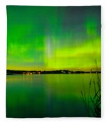 Aurora Reflection Fleece Blanket