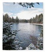 Ausable River 4820 Fleece Blanket