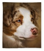Aussie Alert Fleece Blanket