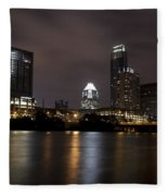 Austin Texas Fleece Blanket