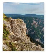 Austrian Alps Fleece Blanket