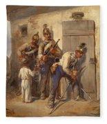 Austrian Dragoons Fleece Blanket