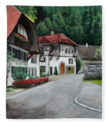 Austrian Village Fleece Blanket