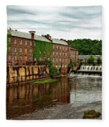 Autauga Creek - Prattville, Alabama Fleece Blanket