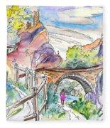 Autol In La Rioja Spain 02 Fleece Blanket