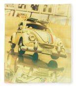 Automotive Memorabilia Fleece Blanket