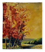 Autumn 68 Fleece Blanket