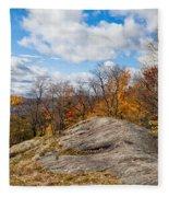 Autumn Above Eagle Bay Ny Fleece Blanket