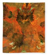 Autumn Abstract 103101 Fleece Blanket