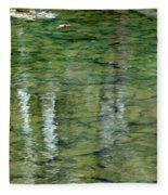 Autumn Abstract - 2 Fleece Blanket