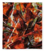 Autumn Allegretto Fleece Blanket