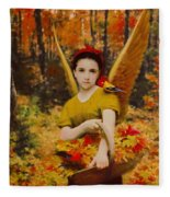 Autumn Angels Fleece Blanket