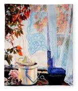 Autumn Aromas Fleece Blanket