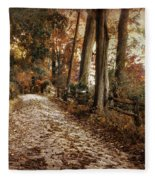 Autumn Ascending  Fleece Blanket