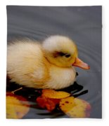 Autumn Baby Fleece Blanket