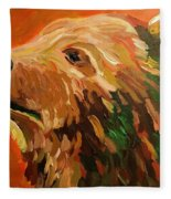Autumn Bear Fleece Blanket