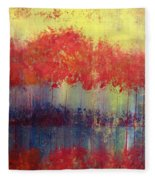 Autumn Bleed Fleece Blanket