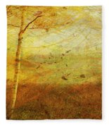 Autumn Breeze Fleece Blanket