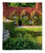 Autumn Brilliance Fleece Blanket