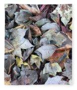 Autumn Carpet II Fleece Blanket