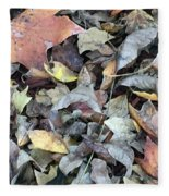 Autumn Carpet Fleece Blanket