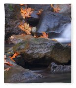 Autumn Cascades Fleece Blanket