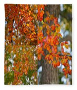 Autumn Collage Fleece Blanket