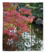 Autumn Color Poster Fleece Blanket
