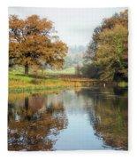 Autumn Colours - Somerset Fleece Blanket