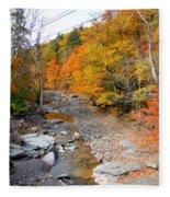 Autumn Creek 3 Fleece Blanket