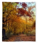 Autumn Crescendo Fleece Blanket