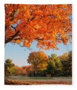 Autumn Dawn Fleece Blanket