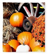 Autumn Display Fleece Blanket