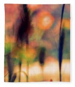 Autumn Dreams Abstract Fleece Blanket