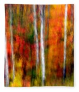 Autumn Dreams Fleece Blanket