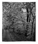 Autumn Drive Bnw Fleece Blanket