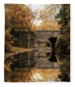 Autumn Echo Fleece Blanket