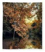 Autumn Enchantment Fleece Blanket