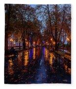 Promenade In Odessa Fleece Blanket